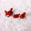 ต่างหูดินปั้น Baby red fox thumbnail 4