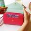[ พร้อมส่ง ] - กระเป๋าสตางค์แฟชั่น สไตล์เกาหลี สีชมพูเข้ม ใบกลาง(รุ่นใหม่) แต่งมงกุฎ งานสวยน่ารัก น่าใช้มากๆค่ะ thumbnail 6