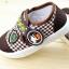 รองเท้าคัชชูผ้า แฟชั่นเด็กชาย สีน้ำตาล Size 28-33 thumbnail 3