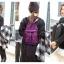 [ ลดราคา ] - กระเป๋าเป้แฟชั่น สไตล์เกาหลี สีน้ำเงิน สุดชิค น้ำหนักเบา พกพาง่าย ดีไซน์สวยเก๋ ไม่ซ้ำใคร เหมาะกับสาว ๆ ที่เน้นความคล่องตัว thumbnail 9