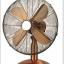 """พัดลมโบราณ GoldView 16"""" Metal Stand Fan (FT-40MC) แบบเตี้ย thumbnail 2"""