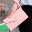 [ Pre-Order ] - กระเป๋าสตางค์แฟชั่น สไตล์เกาหลี สีชมพูอ่อน ใบใหญ่(รุ่นใหม่หนังสวย) แต่งมงกุฎ งานหนังอัดลายสวยน่ารัก น่าใช้มากๆค่ะ thumbnail 3