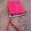 [ พร้อมส่ง ] - กระเป๋าสตางค์แฟชั่น สไตล์เกาหลี สีชมพูเข้ม ใบกลาง(รุ่นใหม่) แต่งมงกุฎ งานสวยน่ารัก น่าใช้มากๆค่ะ thumbnail 5