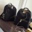 [ พร้อมส่ง HI-End ] - กระเป๋าเป้แฟชั่น สไตล์เกาหลี สีดำคลาสสิค ปักหมุดข้างสุดเก๋ ดีไซน์สวยเท่ๆ งานผ้าร่มไนลอนอย่างดี น้ำหนักเบา น่าใช้มากๆค่ะ thumbnail 17