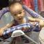[ส่งฟรี] เปลไกวเด็ก Nuebabe พร้อมชุดเบาะนอนและมุ้งฟรี thumbnail 5