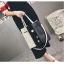 [ ลดราคา ] - กระเป๋าแฟชั่น Set 2 ชิ้น ถือ&สะพาย สีทรีโทนขาวเทาดำ ใบกลางๆ ดีไซน์สวยเก๋ ปรับใช้งานได้หลายสไตล์ thumbnail 9