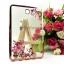 """เคส TPU ครอบหลัง ขอบสีไฮโซ ลายดอกไม้ Samsung S2 8 นิ้ว / Tab S2 VE 8"""" thumbnail 3"""