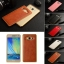 Luxury Leather Metal Aluminum Bumper Frame For Samsung Galaxy A7 thumbnail 2