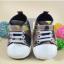 รองเท้าคัชชูเด็กอ่อน ลายพรางทหาร Size 12 13 14 thumbnail 1