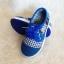 รองเท้าคัชชูผ้า แฟชั่นเด็กชาย สีน้ำเงิน Size 27-32 thumbnail 5