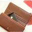 [ พร้อมส่ง ] - กระเป๋าสตางค์แฟชั่น สไตล์เกาหลี สีน้ำตาลเข้ม ใบยาว แต่งกระรอกน้อย งานสวยน่ารัก น่าใช้มากๆค่ะ thumbnail 12
