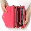 [ Pre-Order ] - กระเป๋าสตางค์แฟชั่น สไตล์เกาหลี สีน้ำเงินเข้ม ใบใหญ่(รุ่นใหม่หนังสวย) แต่งมงกุฎ งานหนังอัดลายสวยน่ารัก น่าใช้มากๆค่ะ thumbnail 12