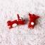 ต่างหูดินปั้น Baby red fox thumbnail 3