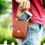 "Floveme กระเป๋าคาดเอวหนังแท้ สำหรับ iPhone Samsung มือถือทุกรุ่นขนาดไม่เกิน 5.5"" thumbnail 9"