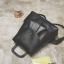 [ Pre-Order ] - กระเป๋าเป้แฟชั่น สีดำคลาสสิค ดีไซน์สวยเก๋เท่ๆ โดดเด่นไปกับดีไซน์ไม่ซ้ำแบบใคร ที่สาวๆ ไม่ควรพลาด thumbnail 11