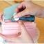 [ พร้อมส่ง ] - กระเป๋าสตางค์แฟชั่น สไตล์เกาหลี สีชมพูเข้ม ใบเล็ก แต่งมงกุฎ งานสวยน่ารัก น่าใช้มากๆค่ะ thumbnail 13