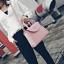 [ ลดราคา ] - กระเป๋าแฟชั่น ถือ&สะพาย สีชมพู ใบกลางๆ ดีไซน์สวยเท่เก๋ๆ งานหนังคุณภาพ เหมาะสำหรับสาวๆ Working Woman เท่ๆสุดๆน่าใช้ thumbnail 7