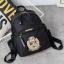 [ พร้อมส่ง HI-End ] - กระเป๋าเป้แฟชั่น สไตล์เกาหลี สีดำคลาสสิค ปักลายสุดเก๋ ดีไซน์สวยเท่ๆ งานผ้าร่มไนลอนอย่างดี น้ำหนักเบา น่าใช้มากๆค่ะ thumbnail 9