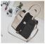 [ ลดราคา ] - กระเป๋าแฟชั่น Set 2 ชิ้น ถือ&สะพาย สีทรีโทนขาวเทาดำ ใบกลางๆ ดีไซน์สวยเก๋ ปรับใช้งานได้หลายสไตล์ thumbnail 26