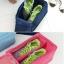 SHOES POUCH กระเป๋าใส่รองเท้า กันน้ำ ใส่ได้ 1-2 คู่ สำหรับเดินทาง thumbnail 3