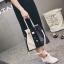 [ ลดราคา ] - กระเป๋าแฟชั่น Set 2 ชิ้น ถือ&สะพาย สีทรีโทนขาวเทาดำ ใบกลางๆ ดีไซน์สวยเก๋ ปรับใช้งานได้หลายสไตล์ thumbnail 5