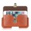 - ฺBusiness Pocket เคส กระเป๋า ซองหนัง คาดเอวสำหรับมือถือ แนวนอน ขนาด 5.1-6.3 นิ้ว thumbnail 23
