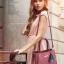 [ Pre-Order ] - กระเป๋าแฟชั่น ถือ/สะพาย สีเทาเข้ม ทรงตั้งได้ ดีไซน์สวยเรียบหรู ดูดี งานหนังคุณภาพ ช่องใส่ของเยอะ thumbnail 5