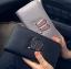 [ พร้อมส่ง ] - กระเป๋าสตางค์แฟชั่น สไตล์เกาหลี ใบยาว หนัง Saffiano แต่งหูกระเป๋าวิ้งค์ๆ สไตล์แบรนด์ดัง งานหนังสวยน่าใช้มากๆค่ะ thumbnail 1