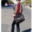 [ ลดราคา ] - กระเป๋าแฟชั่น นำเข้าสไตล์เกาหลี สีดำ ดีไซน์เก๋ไม่ซ้ำแบบใคร สาวๆชอบกระเป๋าสะพายเท่ๆ ห้ามพลาดใบนี้ thumbnail 16