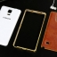 Luxury Leather Metal Aluminum Bumper Frame For Samsung Galaxy NOTE 3 thumbnail 13