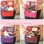 [ พร้อมส่ง ] - กระเป๋าสตางค์แฟชั่น สไตล์เกาหลี สีม่วงสุดชิค ใบยาว แต่งกระรอกน้อย งานสวยน่ารัก น่าใช้มากๆค่ะ thumbnail 9