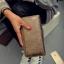 [ พร้อมส่ง ] - กระเป๋าสตางค์แฟชั่น สไตล์เกาหลี ใบยาว หนังปั้มลายดอกไม้ทั้งใบ แบบซิปรูดปิดรอบทั้งใบ thumbnail 11