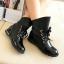 รองเท้าบู๊ทดำ เท่ห์ หรู สไตล์ยุโรป-อเมริกัน Size 36 - 40 thumbnail 3