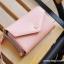 [ พร้อมส่ง ] - กระเป๋าสตางค์แฟชั่น สไตล์เกาหลี สีชมพูเข้ม ใบกลาง(รุ่นใหม่) แต่งมงกุฎ งานสวยน่ารัก น่าใช้มากๆค่ะ thumbnail 10