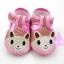รองเท้าเด็กอ่อน ลายหมี สีชมพู thumbnail 1