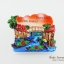 แม่เหล็กติดตู้เย็น ลวดลายตลาดน้ำของไทย Floating Market Thailand thumbnail 2