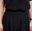SET 2 ชิ้น เสื้อผ้าไซส์ใหญ่ผ้าคอตตอนเนื้อผสมสีดำ + กางเกงขาสี่ส่วนสีดำ thumbnail 7
