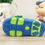 รองเท้ารัดส้นเด็กวัยหัดเดิน สีฟ้าขาวปิดปลายนิ้วเท้ากันชน Size 15-18 thumbnail 4