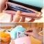[ พร้อมส่ง ] - กระเป๋าสตางค์แฟชั่น สไตล์เกาหลี สีชมพูเข้ม ใบเล็ก แต่งมงกุฎ งานสวยน่ารัก น่าใช้มากๆค่ะ thumbnail 12