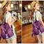 [ ลดราคา ] กระเป๋าเป้แฟชั่น นำเข้าสไตล์เกาหลี สีม่วงสุดฮิต ใบกลางสะพายหลัง ดีไซน์สวยเก๋ ผ้าร่มคุณภาพน้ำหนักเบา พกพาสะดวก เท่ๆ thumbnail 6