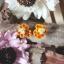 ต่างหูดินปั้น ผึ้งกับรังผึ้ง Bee & Honeycomb thumbnail 2