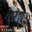[ Pre-Order ] - กระเป๋าแฟชั่น นำเข้าสไตล์เกาหลี สีดำ แต่งหัวกระโหลกด้านหน้า มีกระเป๋าเล็ก 2 ข้างมีสายยาวเท่ห์มากๆค่ะ thumbnail 9