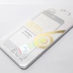 ฟิล์มกระจก GLASS เต็มจอ สีเงิน สำหรับ IPhone 6