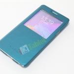 เคส Galaxy NOTE 4 SMART CASE S-View สีฟ้าสวยหรู ส่งฟรี