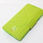 เคส Galaxy NOTE 4 SMART CASE MOMAX ฝาปิด พับสามเหลี่ยม สีเขียว ส่งฟรี