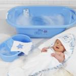 การอาบน้ำให้ลูกน้อยอย่างถูกวิธี