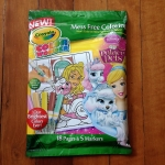 Crayola Color Wonder coloring book: Princess สมุดระบายสีพร้อมสีเมจิก ชุดคัลเลอร์วันเดอร์ ดิสนีย์พริ้นเซส