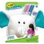 Crayola Doodlemals: The Elephant ตุ๊กตาระบายสี รูปช้าง พร้อมสีเมจิก ล้างออกได้ thumbnail 1