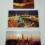 โปสการ์ดท่องเที่ยวไทย ชุด 3 ใบ 3 แบบ รูปวัดพระแก้วมรกต thumbnail 1