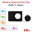 Silicone Case and Len Cap Yi Camera สำหรับ Yi Camera thumbnail 1